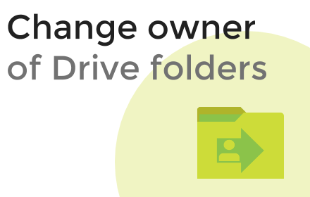folder owner change in ezdrive offer
