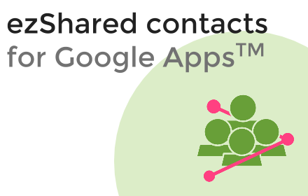 how to manage shared contacts of google apps domain