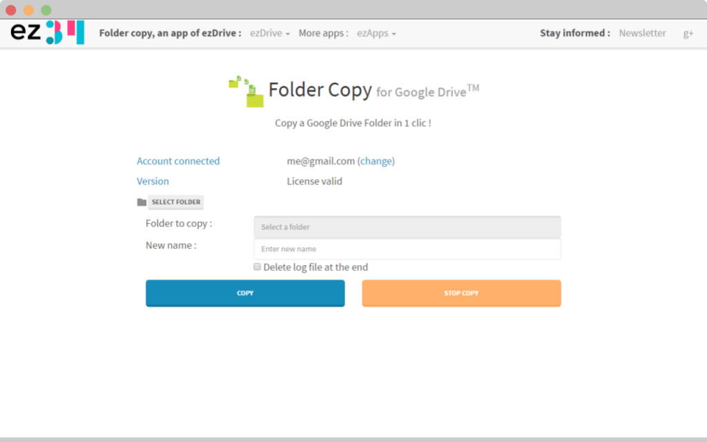 google drive folder copy print screen