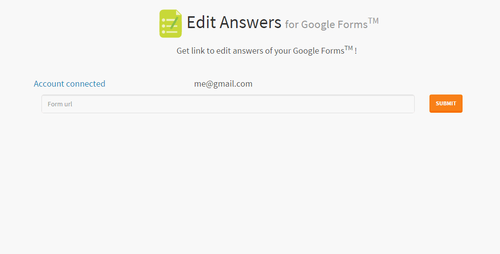 edit and print aswers for google forms