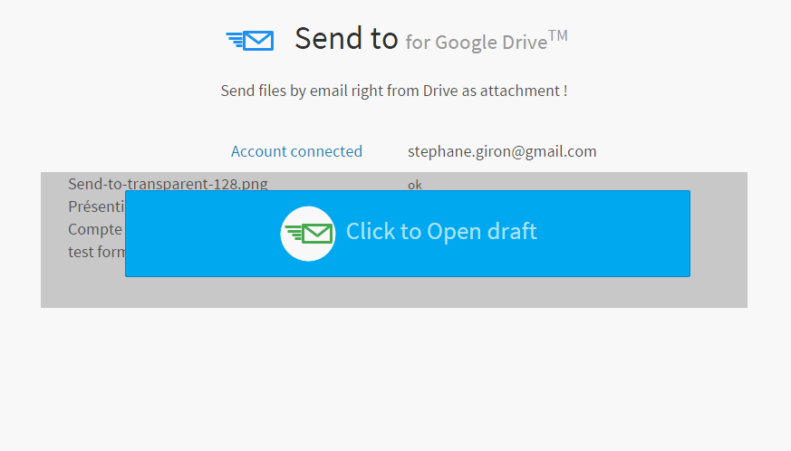 screen send to for google drive