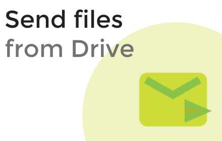 how to send file as attachment from google drive
