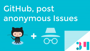 send anonymous issues to github
